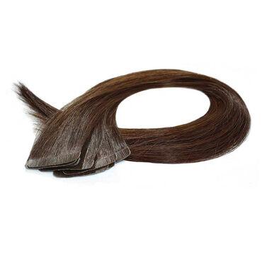 Beauty Works Celebrity Choice Slim Line Tape Hair Extensions 16 Inch - 1B Ebony Black 48g