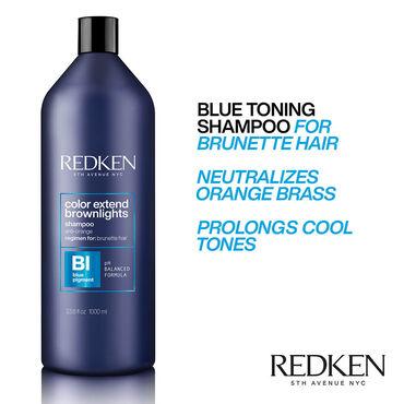 REDKEN Color Extend Brownlights Shampoo 1l