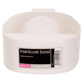 Salon Services Manicure Bowl Acetone Safe
