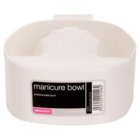 Salon Services Manicure Bowl Acetone Safe
