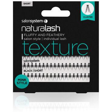 Salon System Naturalash Individual Texture Short (Mink Style)