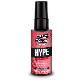 Crazy Color Hyper Pure Pigment Drops, Red, 50ml