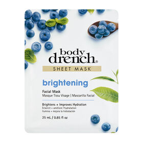 Body Drench Brightening Sheet Facial Mask 25 ml