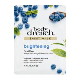 Body Drench Brightening Sheet Facial Mask 25 ml