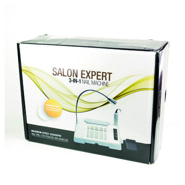 Salon Expert Nailcraft NC3100 3-in-1 Nail Machine Kit White