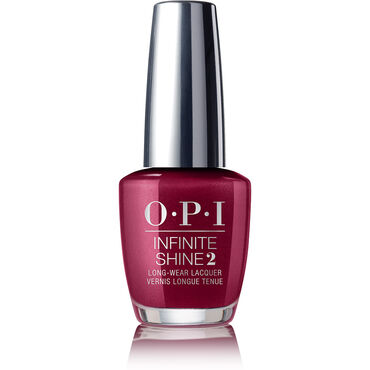 OPI Infinite Shine Gel Effect Nail Lacquer - Bogota Blackberry 15ml