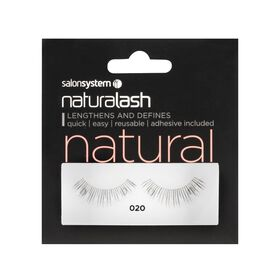 Salon System Naturalash Strip Lashes Natural 020