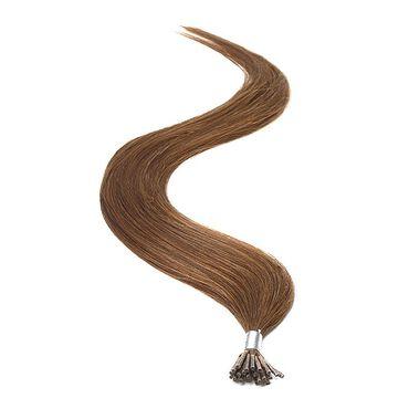American Pride I-TIP Human Hair Extensions 18 Inch - 4 Brown