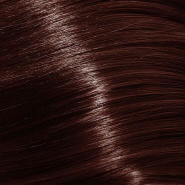 Silky Coloration Permanent Hair Colour - 6.45 Dark Copper Mahogany Blonde