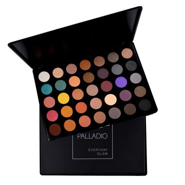 Palladio 35 Color Eyeshadow Palette  Everyday Glam