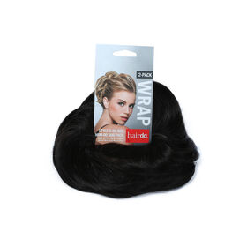 Hairdo Style-A-Do And Mini-Do clip in hair piece R4/ Midnight Brown Duo Pack