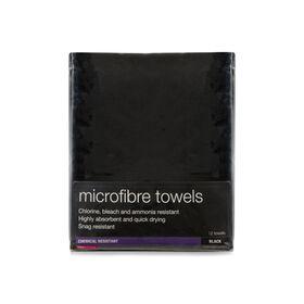 Salon Services Microfibre Towels 12 Pack