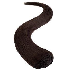 Wildest Dreams Clip In Half Head Human Hair Extension 18 Inch - 3 Chocolate Brown
