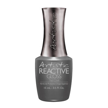 Artistic Colour Revolution Reactive Gloss Top Coat 15ml