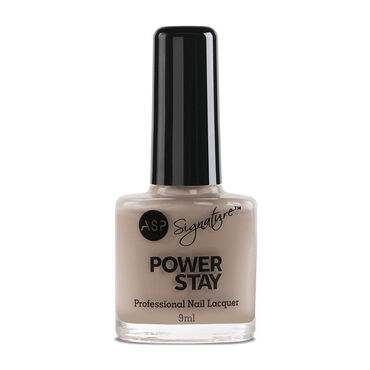 ASP Power Stay Professional Nail Lacquer - Cappuccino 9ml