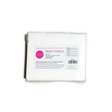 ASP Desk Towels, Pack of 50
