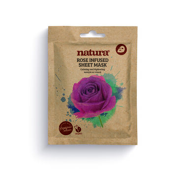 Natura Rose Infused Sheet Mask 25ml