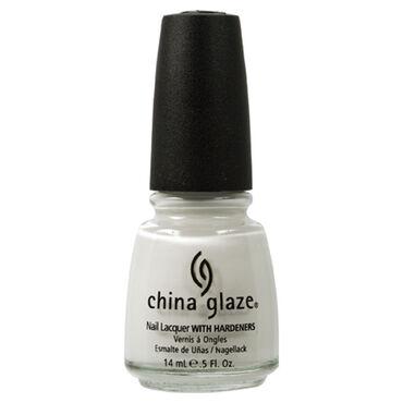 China Glaze Nail Lacquer - White On White 14ml