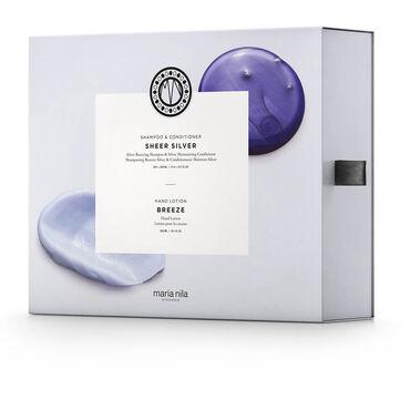 Maria Nila Care & Style Sheer Silver Gift Box, 950ml