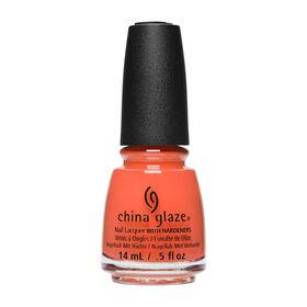 China Glaze Chic Physique Nail Lacquer Athlete Chic Orange 14ml