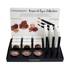 Bodyography Personal Eyes Collection Display 18 Piece