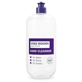 Vines Biocrin Anti Bacterial Gel Power Hand Cleanser 450ml