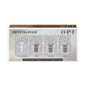 OPI Shine Bright Christmas Collection - Crystalpixie Mini's, 4 Pack