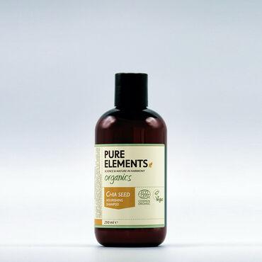Pure Elements ORGANICS Chia Seed Nourishing Shampoo 250ml