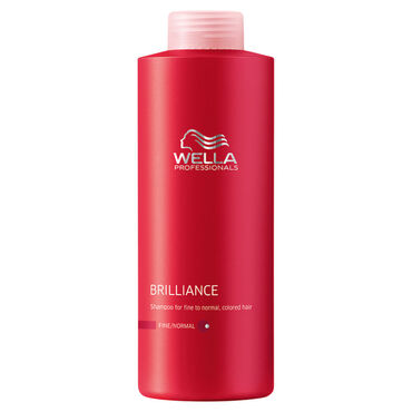 Wella Professionals Brilliance Shampoo for Coloured Fine to Normal Hair 1L