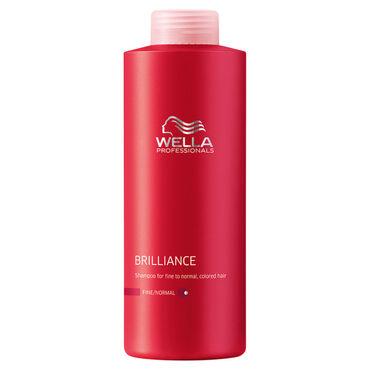 wella professionals brilliance shampoo for coloured fine to normal