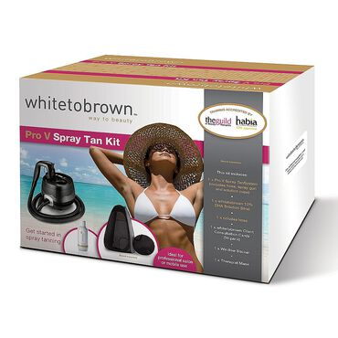 Whitetobrown Professional Spray Tanning Course