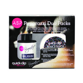ASP Signature & Quick Dip Paparazzi Collection Duo Pack Star Struck 14ml & 14g