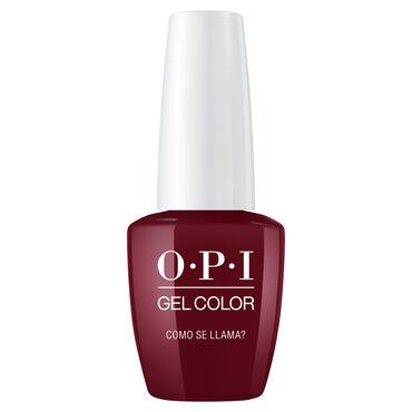 OPI Peru Collection Gel Polish Como se Llama? 15ml