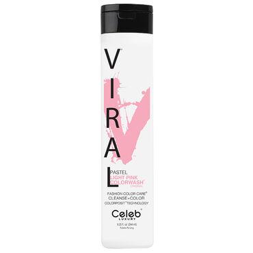Celeb Luxury Viral Semi Permanent Colorwash Shampoo - Pastel Pink 244ml