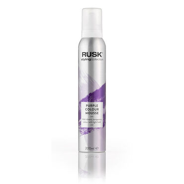 Rusk Styling Collection Colour Mousse - Purple 200ml