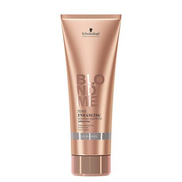 Schwarzkopf Professional BlondMe Tone Enhancing Bonding Shampoo - Cool Blondes 250ml