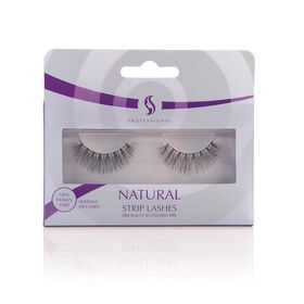 S Professional Natural Strip Lashes