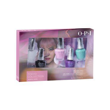 OPI Tokyo Collection Infinite Shine 5pc Mini Pack 5 x 3.75ml