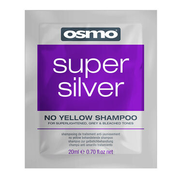 Osmo Super Silver No Yellow Shampoo Sachet 20ml