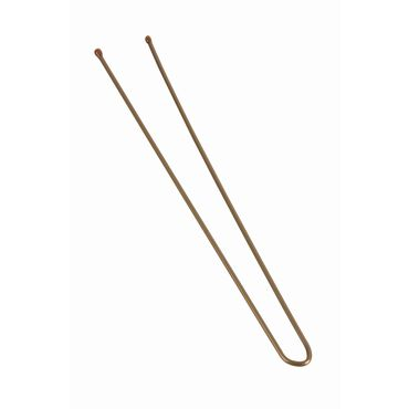 Salon Services Heavy Plain Hair Pin Brown 7.6cm Pack of 500