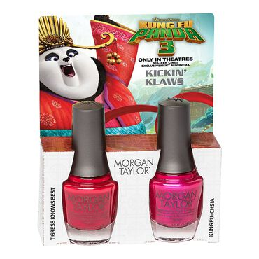 Morgan Taylor Kung Fu Panda 3 Collection - Kickin  Klaws Duo Pack