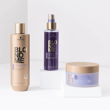 Schwarzkopf Professional BlondMe Cool Blondes Neutralizing Spray Conditioner 150ml