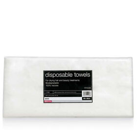 Salon Services Disposable Towel White Pack of 50