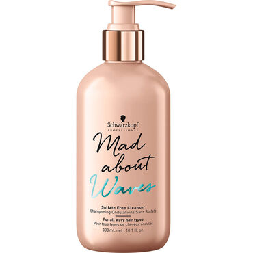 Schwarzkopf Professional Mad About Waves Sulfate-Free Cleanser 300ml