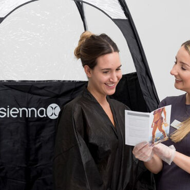 Sienna X Level 1 Professional Spray Tanning Course