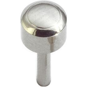 Caflon Regular White Stainless Steel-plated Piercing Stud 12 pack