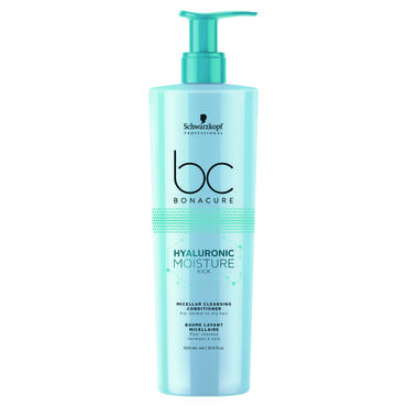 Schwarzkopf Professional Bonacure Hyaluronic Moisture Kick Micellar Cleansing Conditioner 500ml