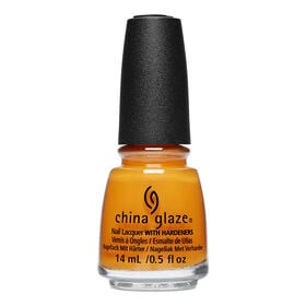 China Glaze Long-Wear Oil Based Nail Lacquer The Arrangement Collection - Good As Marigold, 14ml