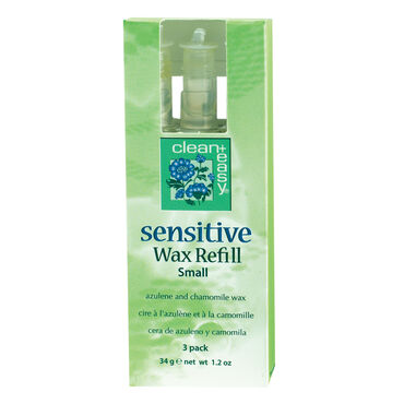 Clean & Easy Sensitive Roll-On Wax Cartridge Pack of 3