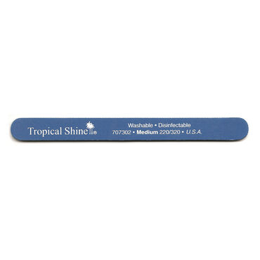 Tropical Shine Blue Nail File (Medium 220/320)